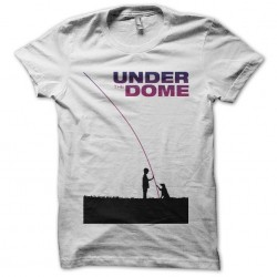 Under the dome white sublimation t-shirt