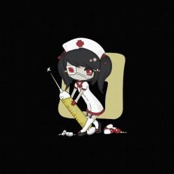 Sexy black nurse...