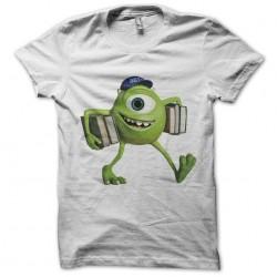 tee shirt Michael Wazowski mike white sublimation