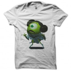 Mike Monster t-shirt small woman white sublimation