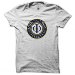 International Fleet t-shirt Ender white sublimation strategy