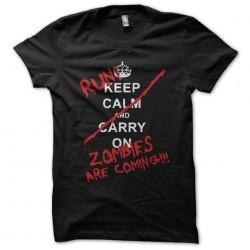 Keep Calm parody zombies...