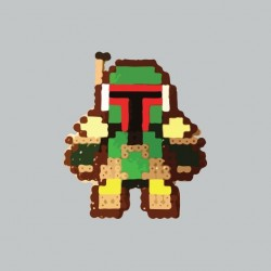T-shirt Boba Fett beads...
