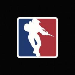 Tee shirt Halo parodie NBA  sublimation
