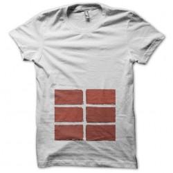 Abdos t-shirt in white bricks sublimation