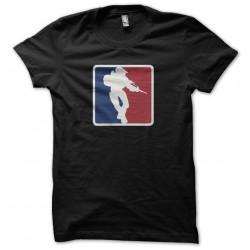 T-shirt Halo parody NBA...
