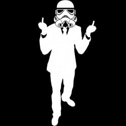 T-Shirt stromtrooper black...