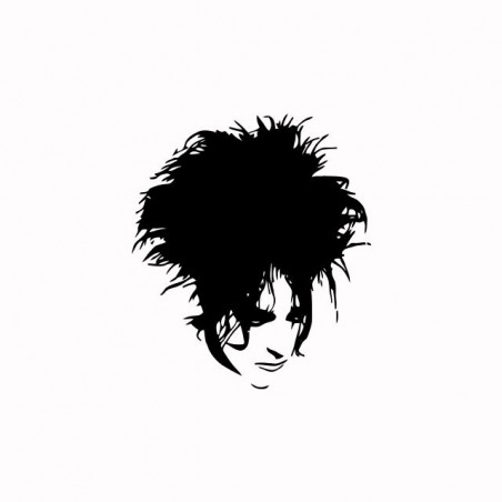 The Cure Robert Smith white sublimation t-shirt