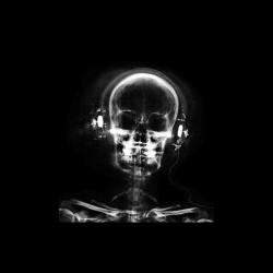 Tee shirt Dj crâne casque rayonsX  sublimation