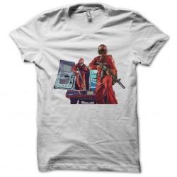 Big theft auto t-shirt 5 white sublimation