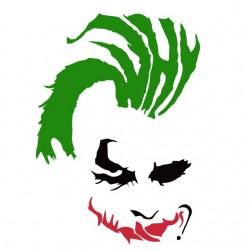 T-shirt joker punk white...