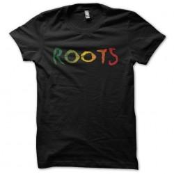 Tee shirt Roots dégradé usé...