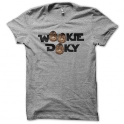 T-shirt Wookie Doky gray sublimation