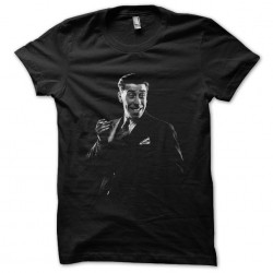 Fernandel portrait black sublimation t-shirt