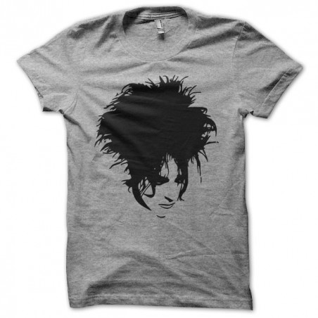 Tee shirt The Cure Robert Smith gris sublimation