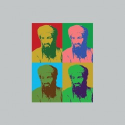 Bin Laden t-shirt pop art...