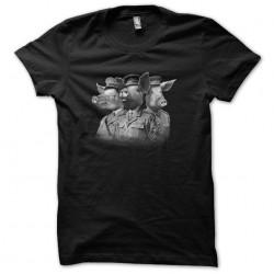 Black pigs sublimation t-shirt