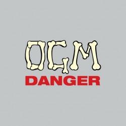 Tee shirt OGM danger gris...