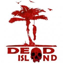 Dead island white sublimation t-shirt