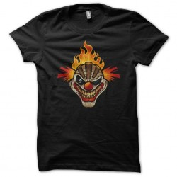 T-shirt sweet tooth twisted metal black sublimation