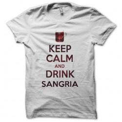 Keep calm drink white...