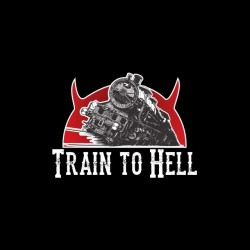 Tee shirt Hell on Wheels train to hell  sublimation