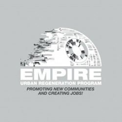 Urbanization Program T-shirt of the Gray Empire sublimation