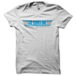 Air Sarko One parody top Gun t-shirt white sublimation