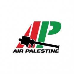 Air Palestine white...