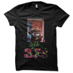 T-shirt The life of the black sublimation