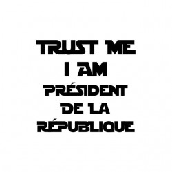 Tee shirt Trust me I am...