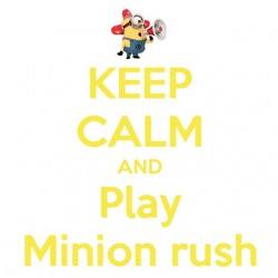 Tee shirt Minion Keep Calm...