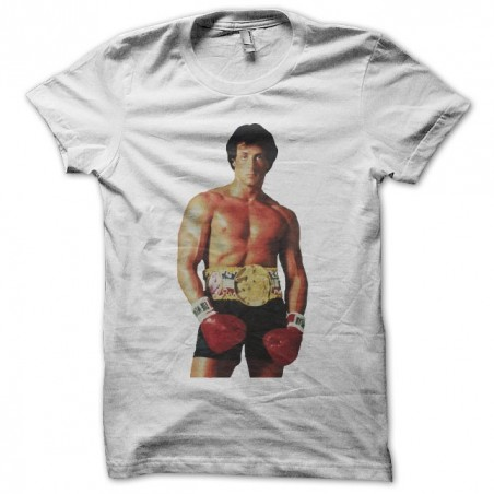 Tee shirt Rocky ready to boxe  sublimation