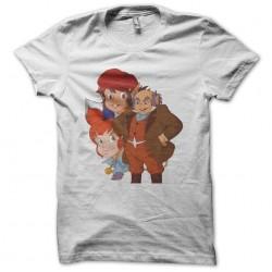 T-shirt Les Minipouss white sublimation