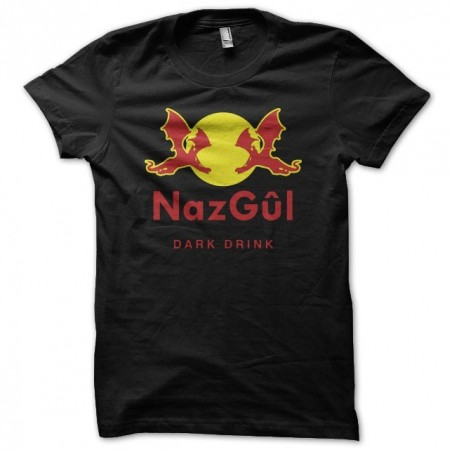Nazgul parody t-shirt Red Bull black sublimation