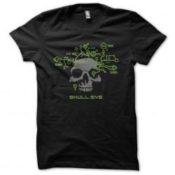Skull.sys black sublimation t-shirt