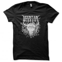 Mountain Mirrors T-Shirt 3rd Eye Black Sublimation