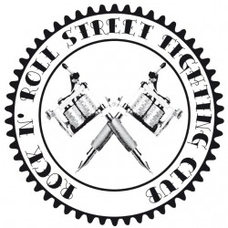 Tee Shirt Rock N 'Roll Street Tattoo Machine Fighting Club White Sublimation