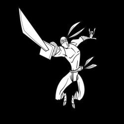 Tee Shirt the ninja in...