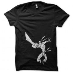 Tee Shirt the ninja in black sublimation