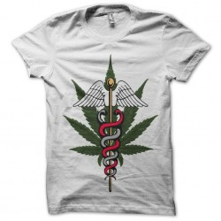 Weed logo t-shirt weed in...
