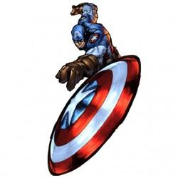 Captain america comic white...