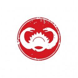Thulsa Doom symbol snake white sublimation t-shirt