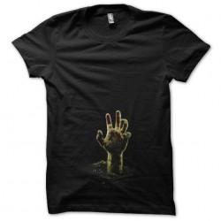 Tee shirt Zombie main...