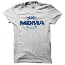 Drugs shirt MDMA white sublimation