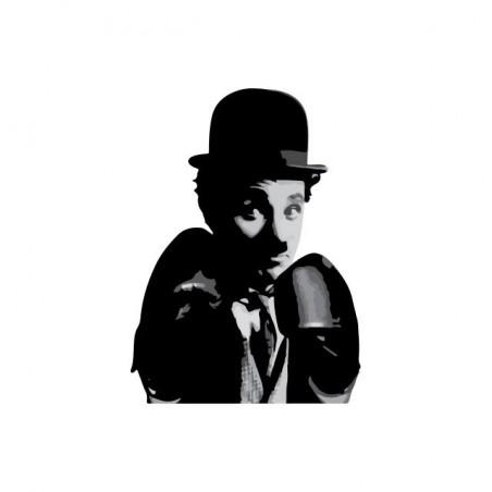 Chaplin boxing t-shirt white sublimation