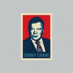 Tee shirt Denny Crane parodie Hope Obama gris sublimation