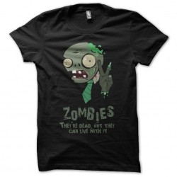 Tee shirt The zombies are...