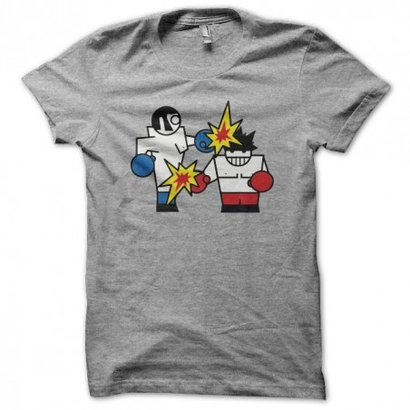 Tee shirt vector gamer boxing gris sublimation