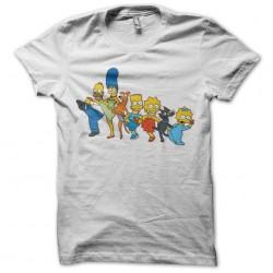 Tee shirt Simpson Dance  sublimation